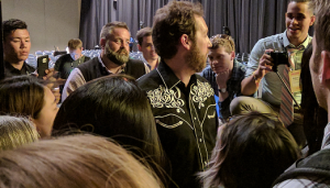 Speaking with Chris Sacca at Collision Conf