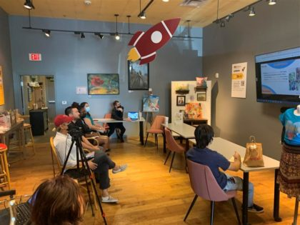 pitch in event at pop-up peoria